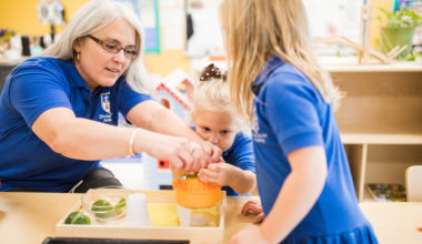 Active Learning in Preschool at Divine Savior Academy