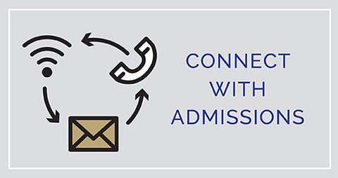 Connect with Admissions