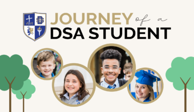Journey of a DSA Student from early childhood, elementary, middle, and high school.